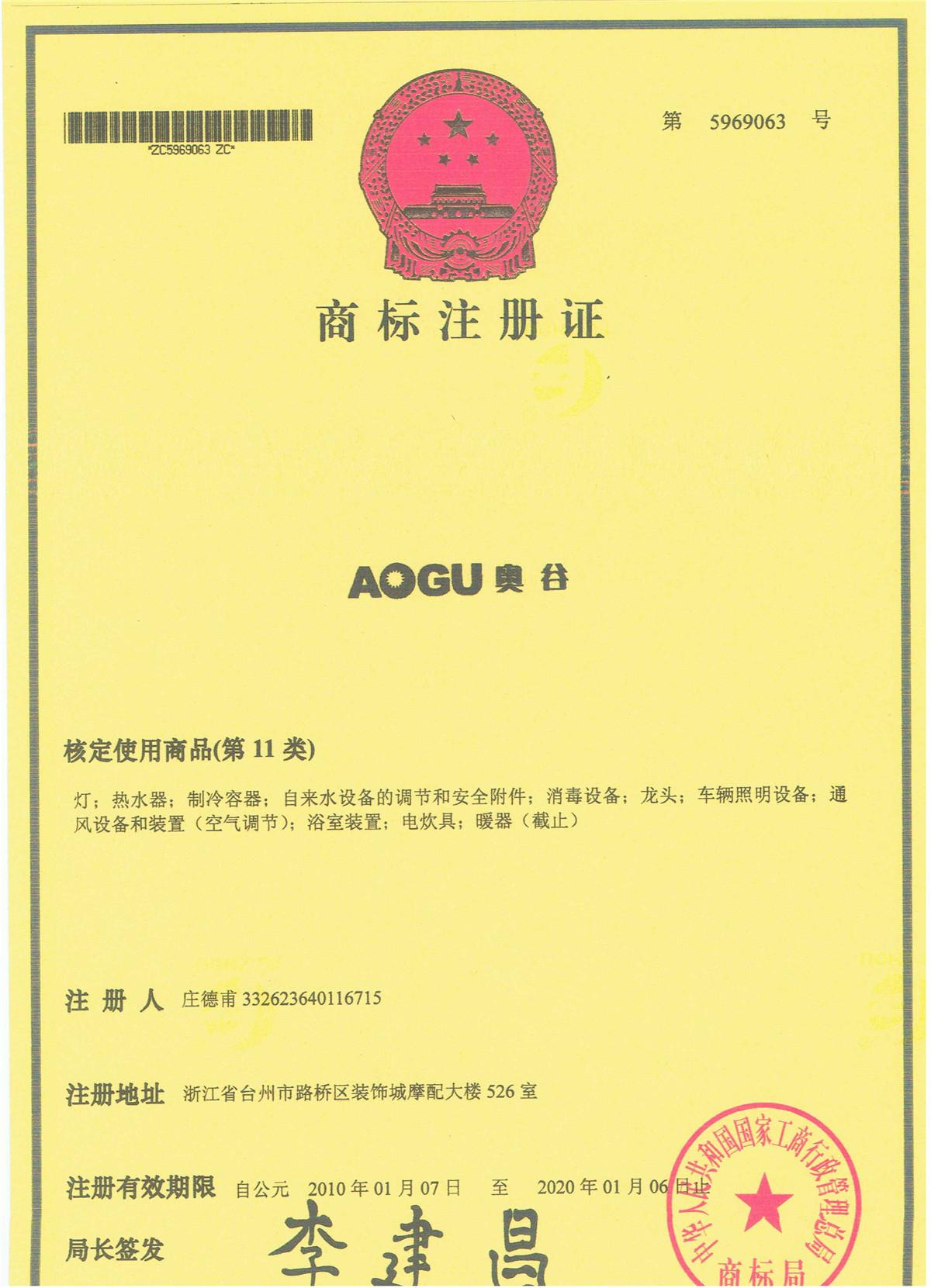 AOGU商標