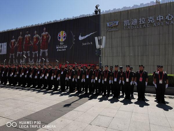 籃球世界杯勤務