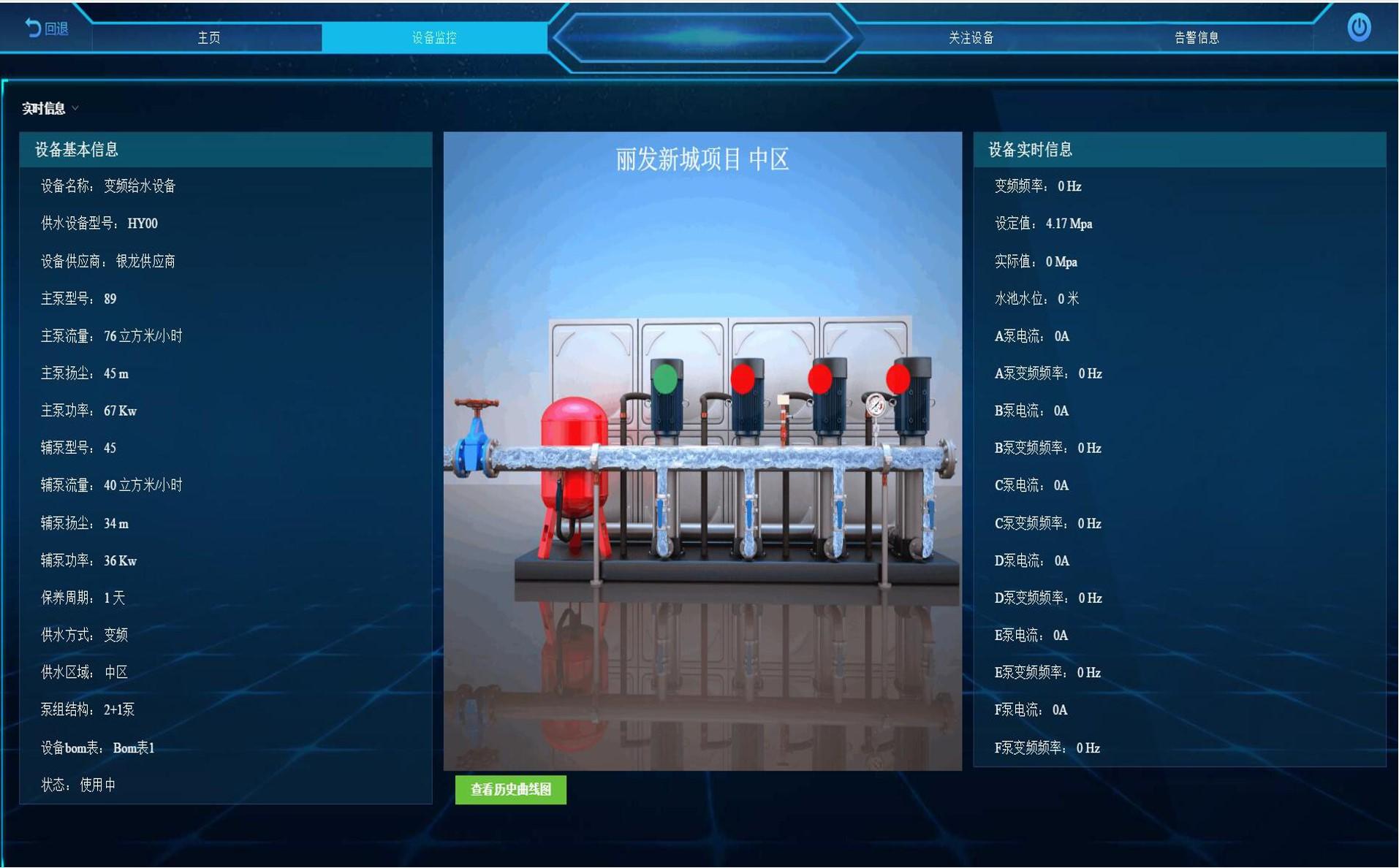 二次供水设备⊙运维管理平台
