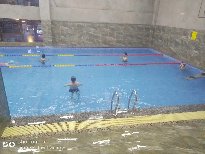 沙坪区山峡广场380立方恒温游泳池