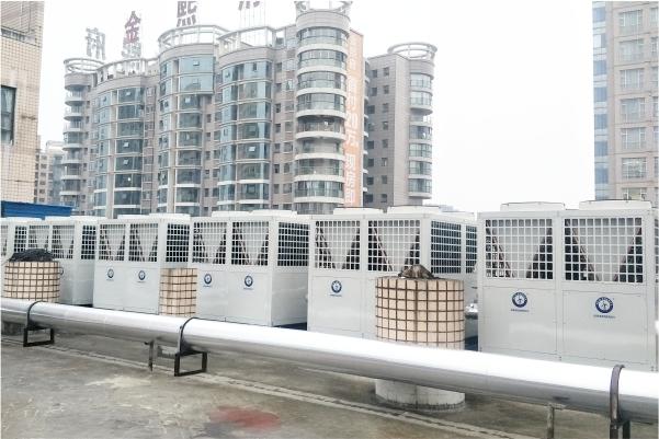 贵州贵龙饭店空气能热泵空调、热水工程