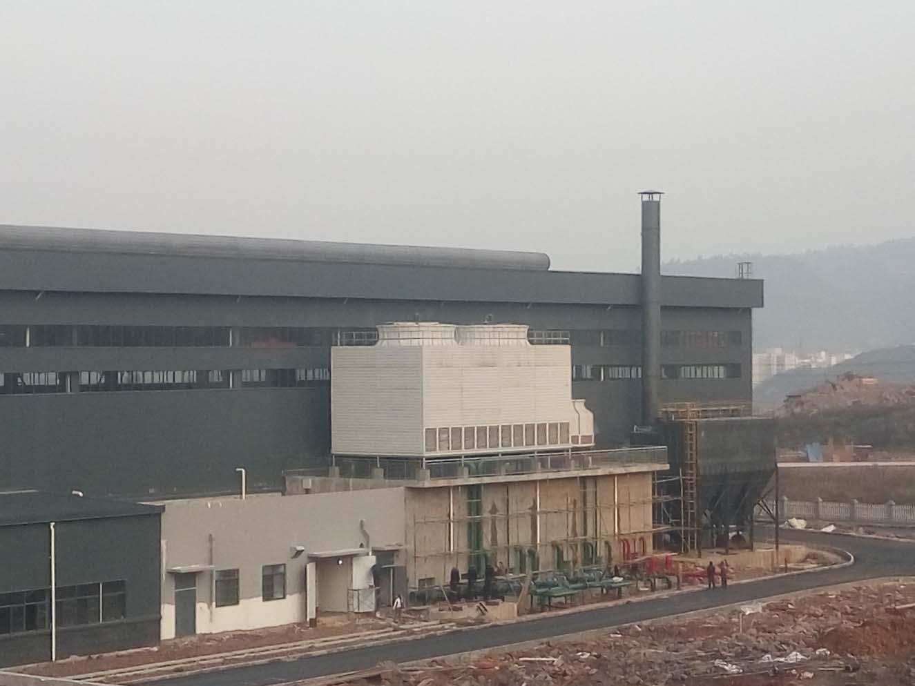 中国能源集团恒亚铝业熔炼烟气治理1期工程