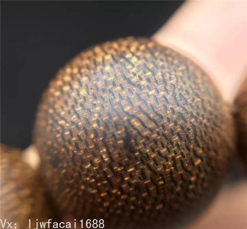 馬泥澇沉香手串珠子油脂清晰
