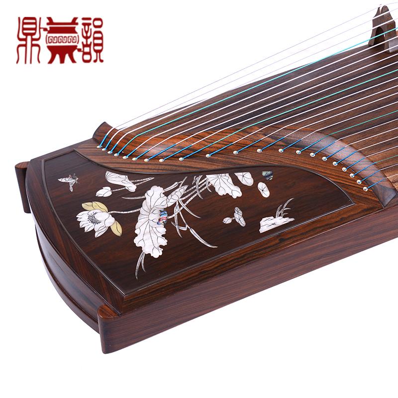 鼎韵905-BH古筝(粉荷清蝶)