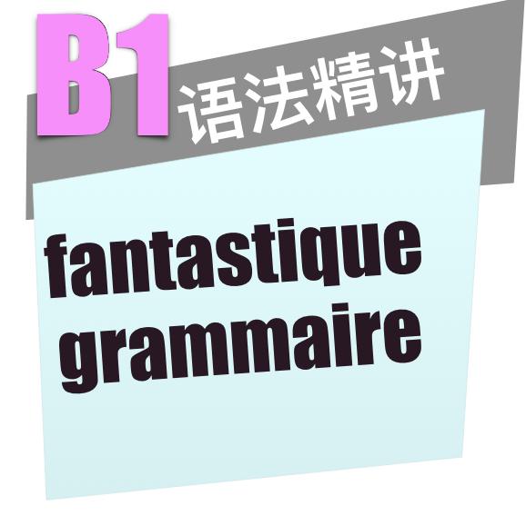 法语B1语法精讲