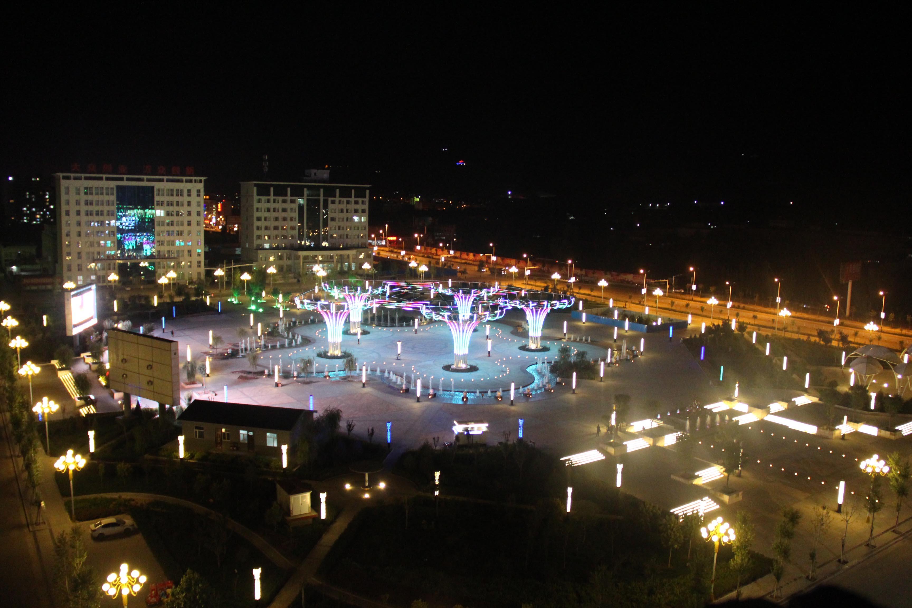 环县生态文化广场