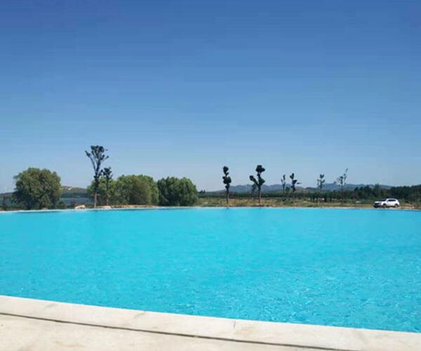 平頂山豫晨莊園無邊際泳池