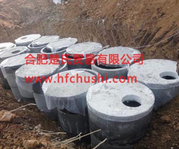 上海龙安实业公司化粪池工程