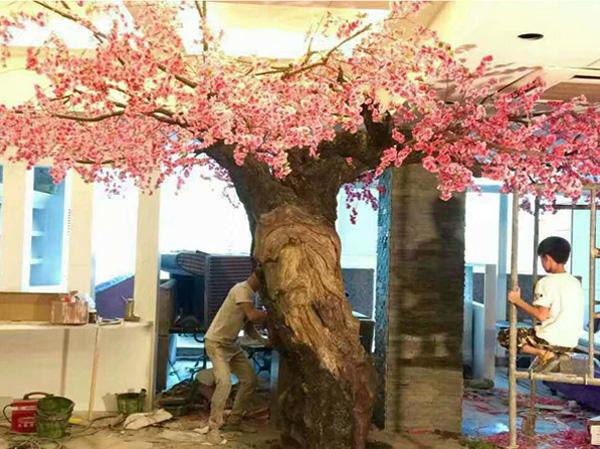 桐城市老步行街咖啡厅beplay娱乐平台假树