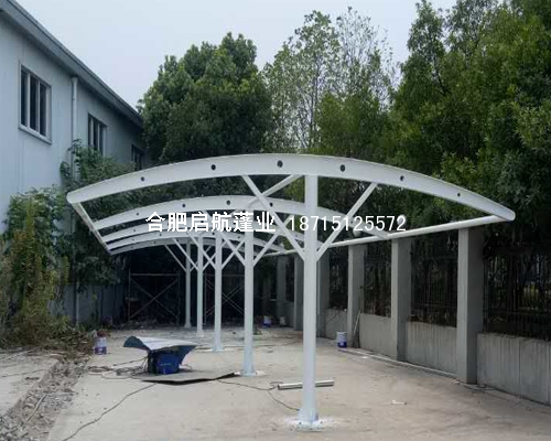 膜结构遮阳棚