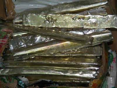 含铜废锡块回收
