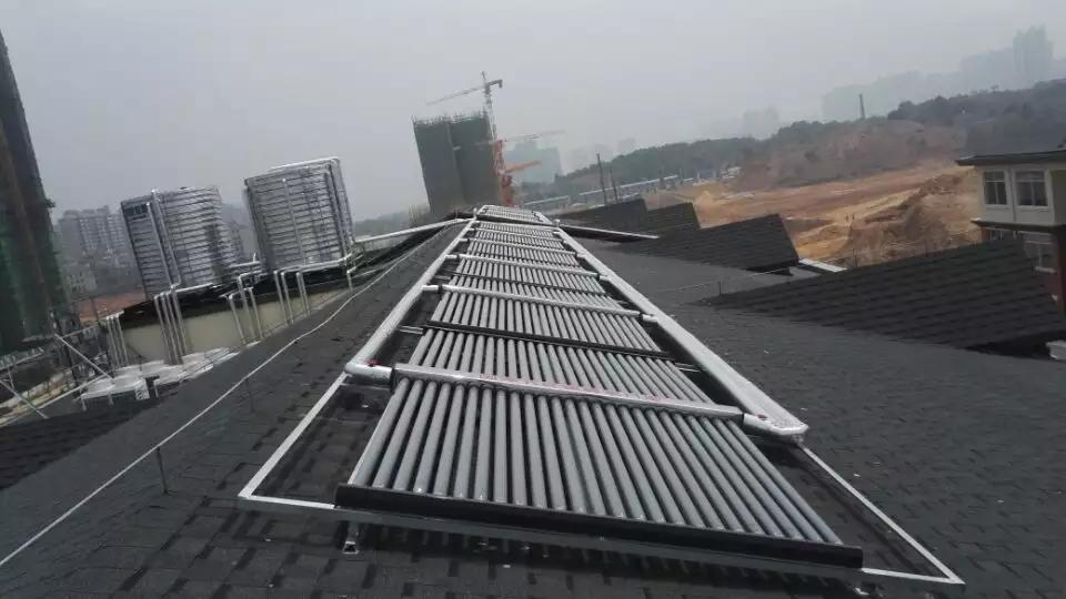 真空管集热器热水工程模块