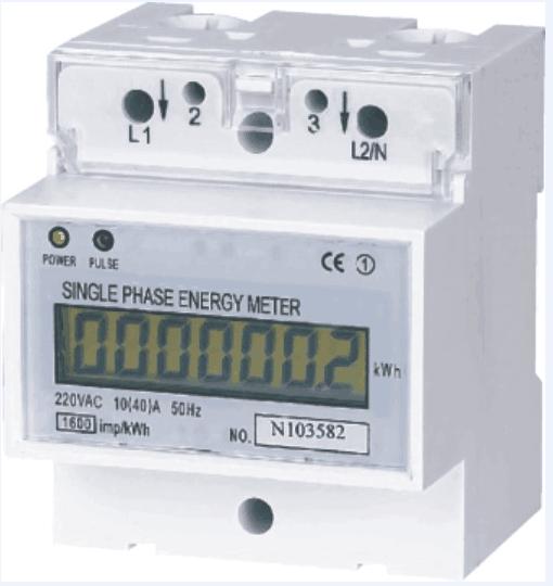 单相/三相导轨电能表BY100/300E