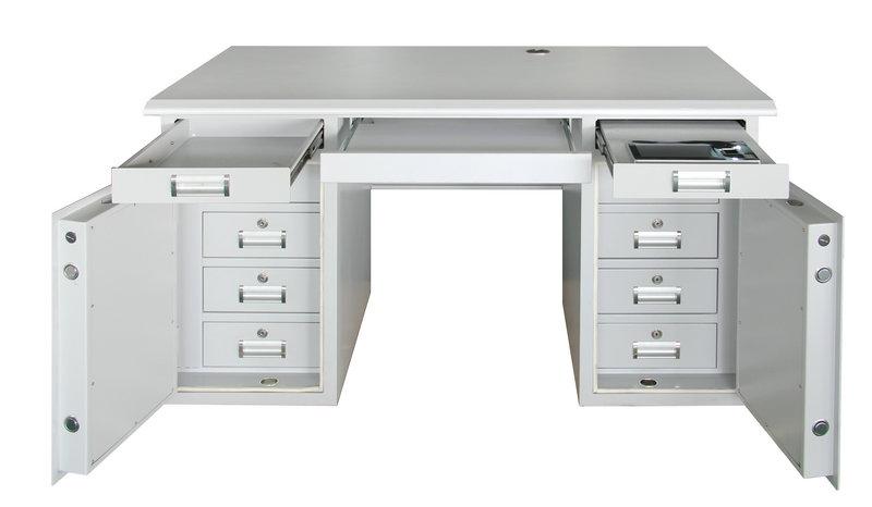 双翼式保密桌
