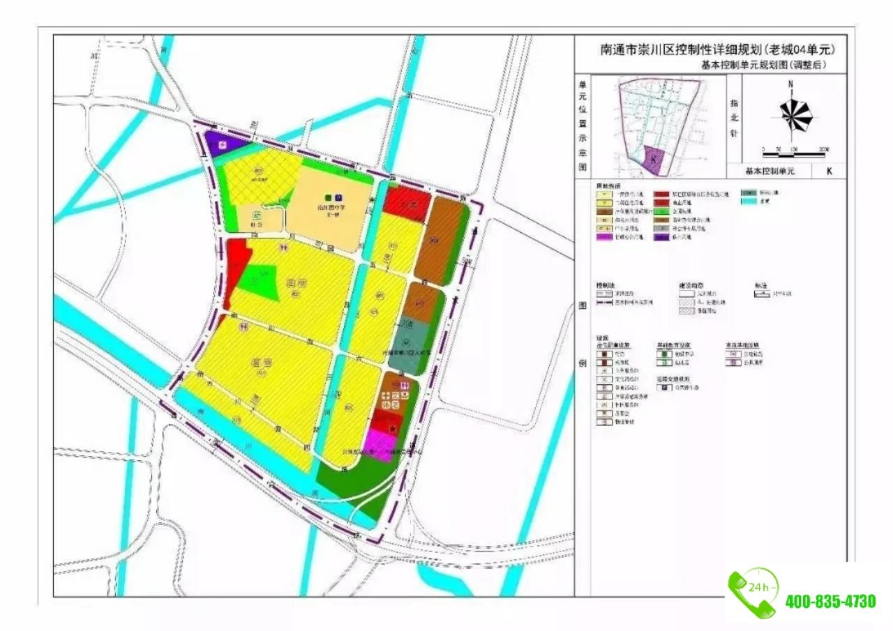 17年8月31日,南通市行政审批局官网发布 北城小学北校区项目规划方案