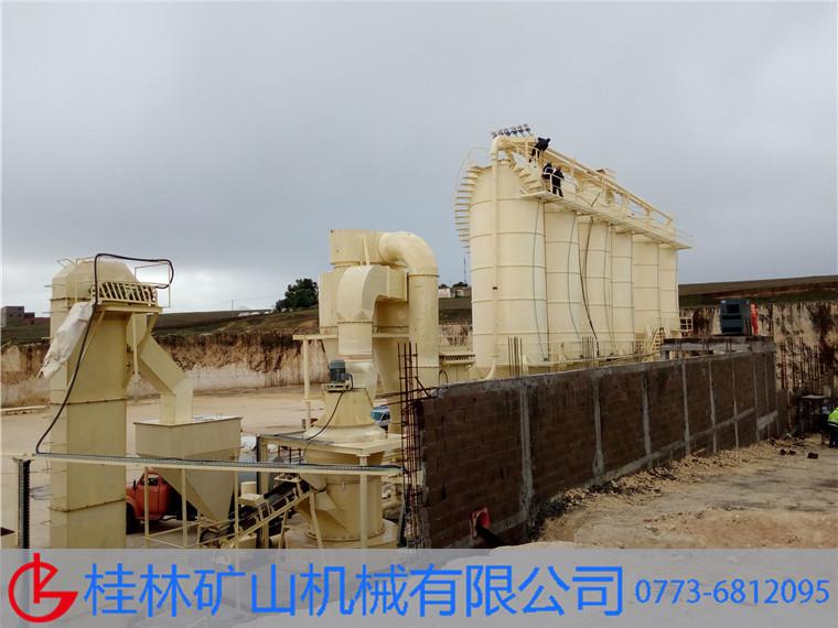 年产30万吨电厂脱硫粉雷蒙磨欧版磨