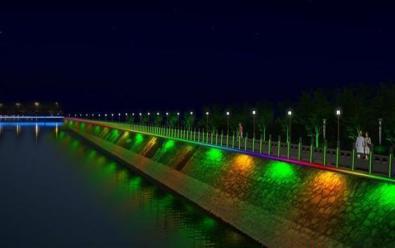 珠江岸邊夜景