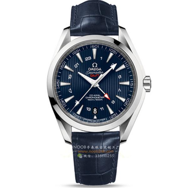 【BF厂】欧米茄海马GMT系列231.13.43.22.03.001男士瑞士腕表