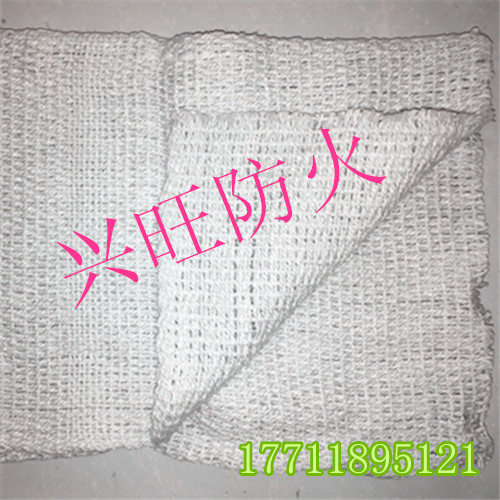 Ceramic fiber fireproof cloth (complete specifications)