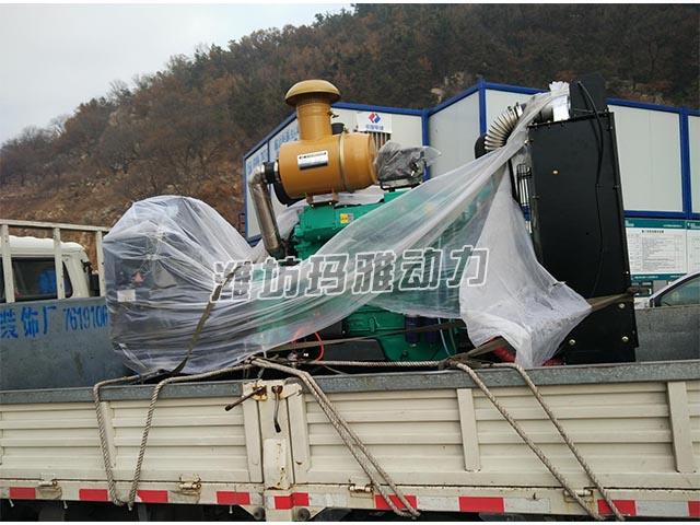 青岛采疆场推销250KW公用机组一套