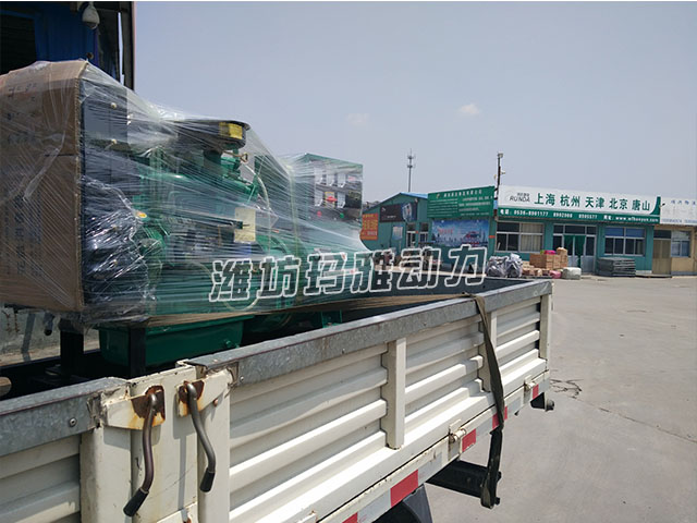 30KW发机电组送货