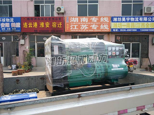 连云港某旅店推销50KW柴油机组