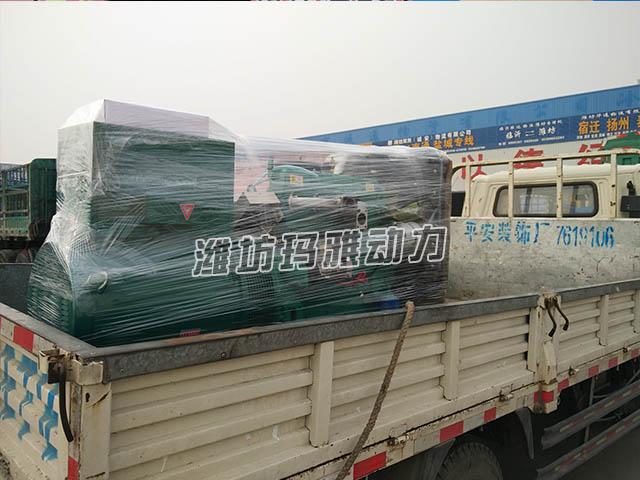 30KW发机电送到货场