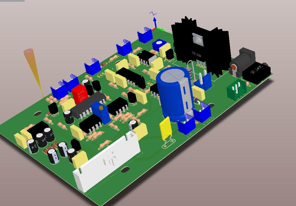 pcb 制版_地下金属探测器PCB文件图纸线路板资料-脉冲探测仪-商城-清华电子网