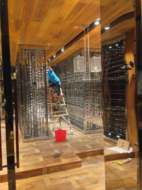 不锈钢酒窖工程