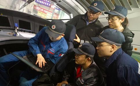 石家庄铁路学校动车组驾驶舱检修实训