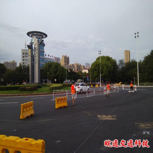 滁州市琅琊大道道路划线