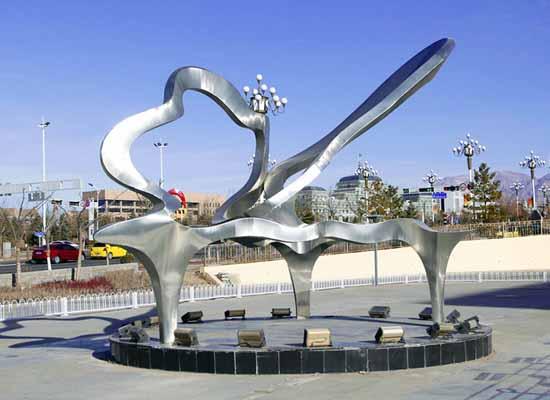 不锈钢雕塑系列2