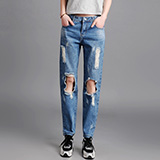 破洞牛仔裤系列