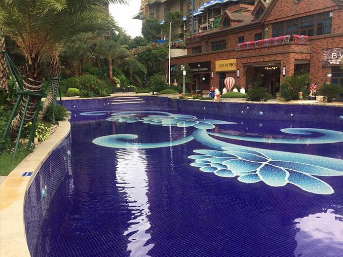 无锡碧桂园景观展示区泳池项目