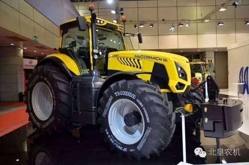 麦考密克再度发力,发售意大利本土最大310马力拖拉机