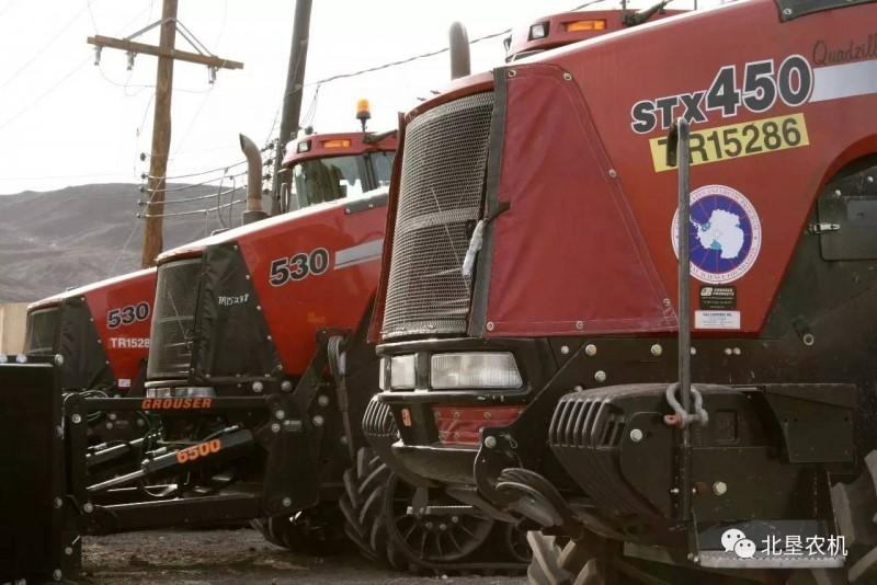 哪些拖拉机去过南极?零下五六十度对发动机绝对是个考验