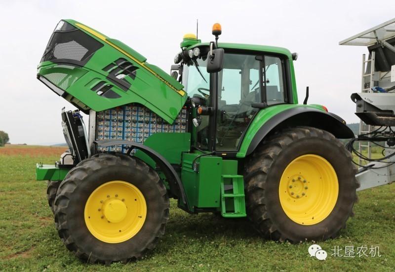 迪尔公司将发布电动拖拉机,没有柴油机声音的拖拉机能...