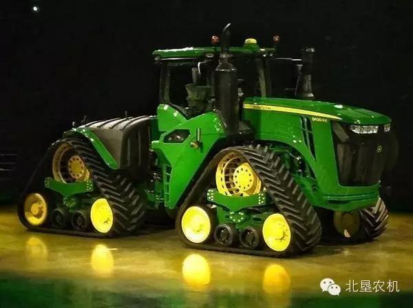 约翰迪尔公司发布最大达620马9RX系列三角履带拖拉机