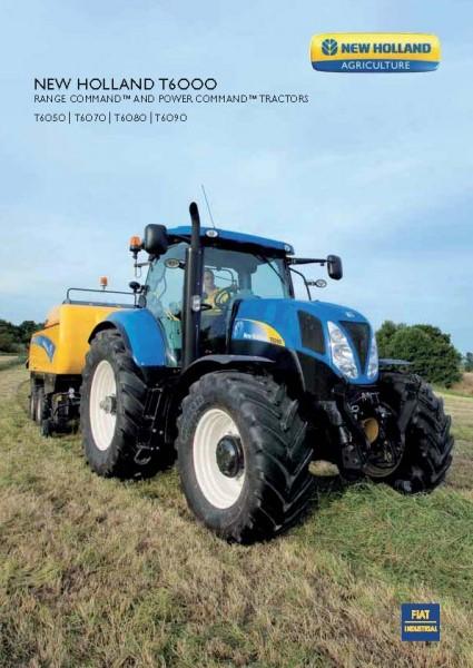 纽荷兰T6000系列拖拉机彩页
