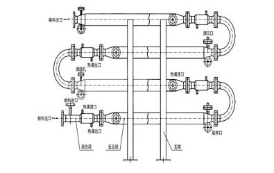 管道反应器外形结构图