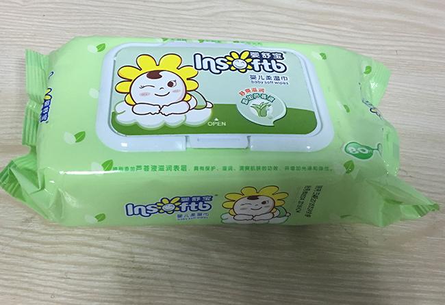 嬰舒寶 濕巾嬰兒柔濕巾 160mmx200