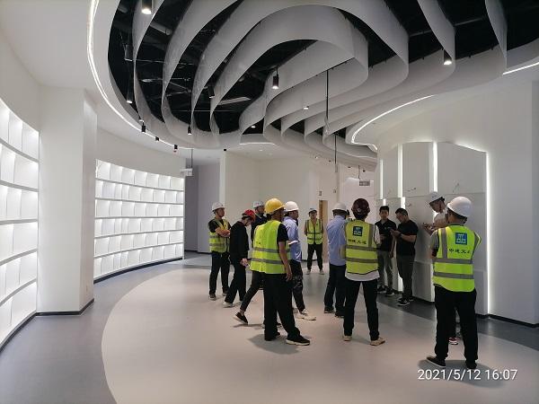 菏泽职业学院二期工程项目 ——国际学术交流中心装修工程验收合格