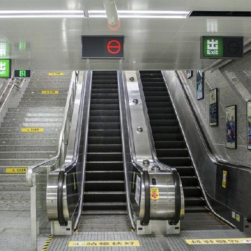 公交型自动扶梯
