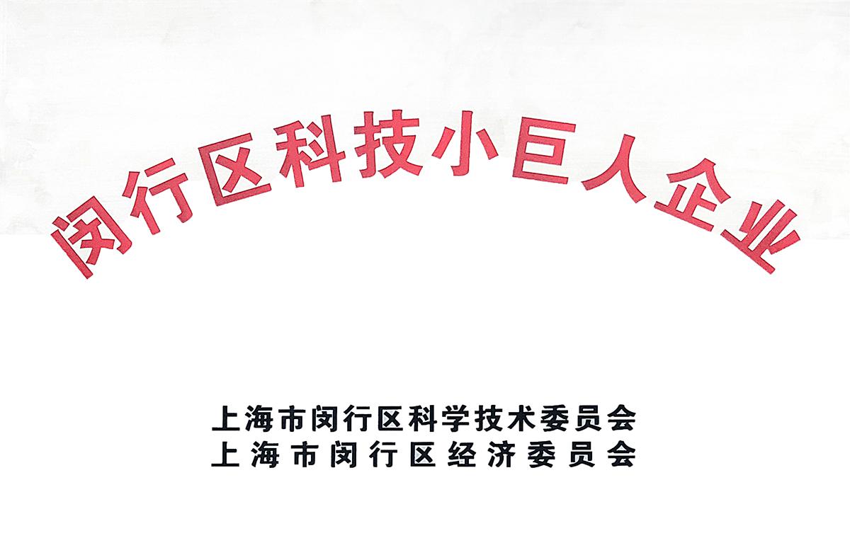 闵行区科技小巨人企业